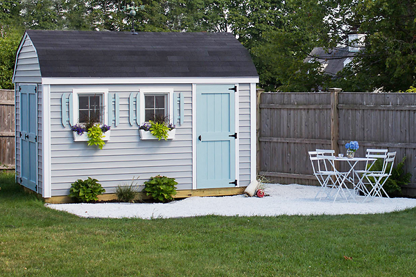 Build your own beautiful she shed long island building for Build your own barn online